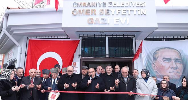 Ümraniye Belediyesi Gazi Evi Açılış Töreni Başkan Hasan Can'ın Katılımıyla Gerçekleşti