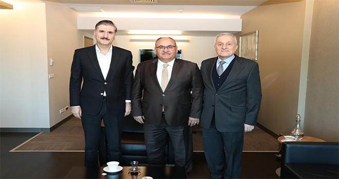Başkan Hasan Can'dan Medistate Kavacık Hastanesi Yönetim Kurulu Başkanı Prof. Dr. Eyüp Gümüş'e Ziyaret