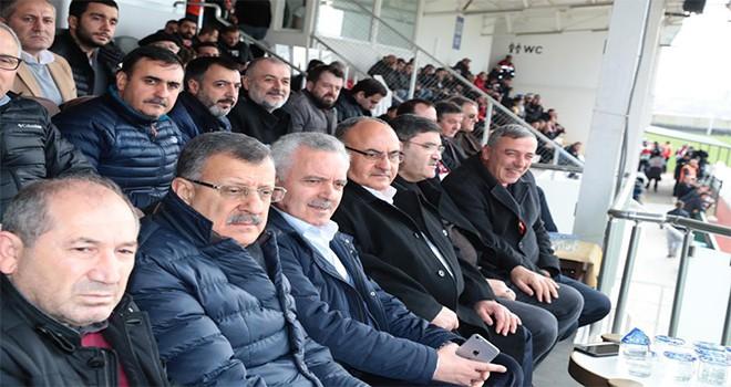 Başkan Hasan Can Ümraniyespor Elazığspor Maçını İzledi