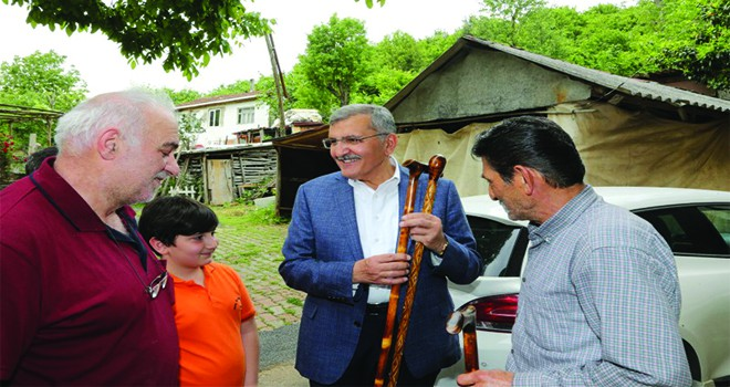 Başkan Murat Aydın Beykoz'daki Baston Sanatını Yerinde İnceledi