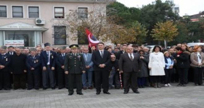 10 Kasım Resmî Töreni Ümraniye'de Yapıldı