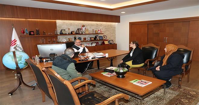 Ümraniye Rehberlik Araştırma Merkezi'nden Başkan Hasan Can'a Ziyaret