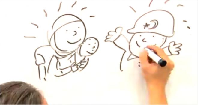 Kardeşlik ve Mültecilik konulu ödüllü karikatür yarışması