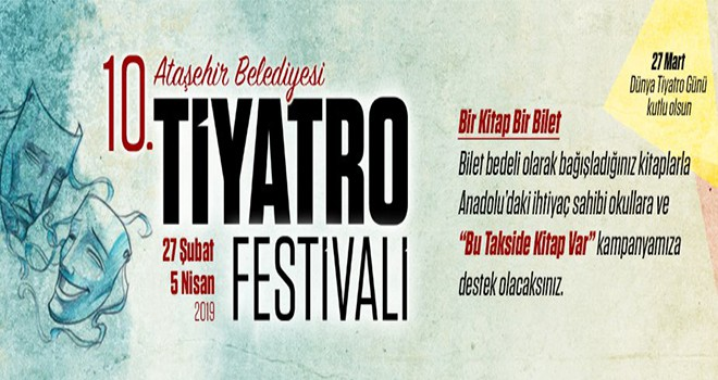 Ataşehir Tiyatro Festivali 10 Yaşında