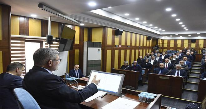 Belediye Meclisi'nde Veda Toplantısı