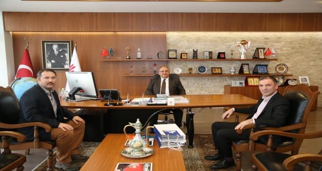 Kartal Anadolu İmam Hatip Lisesi Müdürü'nden Başkan Hasan Can'a Ziyaret