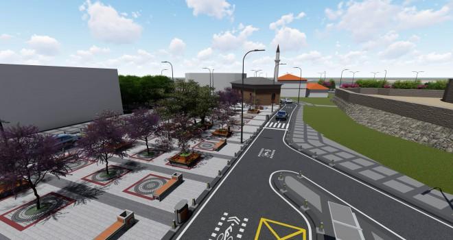 Riva Meydanı Yeni Çehresine Kavuşuyor