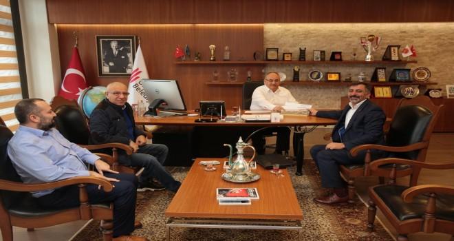 Kars Ataköyü Sosyal Yardımlaşma Derneği'nden Başkan Hasan Can'a Ziyaret