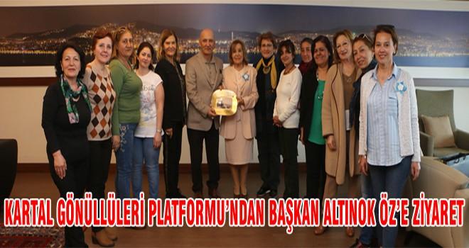 Kartal Gönüllüleri Platformu'ndan Başkan Altınok Öz'e Ziyaret