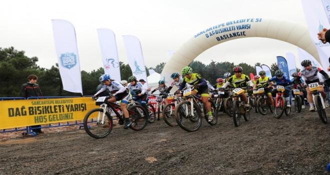 Sancaktepe'de 1. Dağ Bisikleti Yarışması Yoğun Katılım altında gerçekleşti