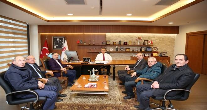Ümraniye Giresunlular Derneği'nden Başkan Hasan Can'a Ziyaret