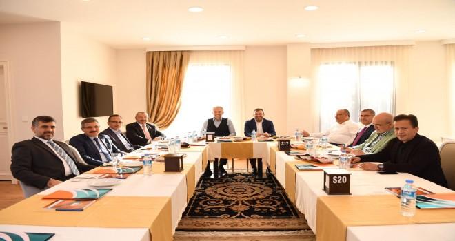 Başkan Hasan Can, Anadolu Yakası Belediye Başkanları Toplantısına Katıldı