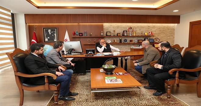 Osmanlı Ocakları Teşkilatından Başkan Hasan Can'a Ziyaret