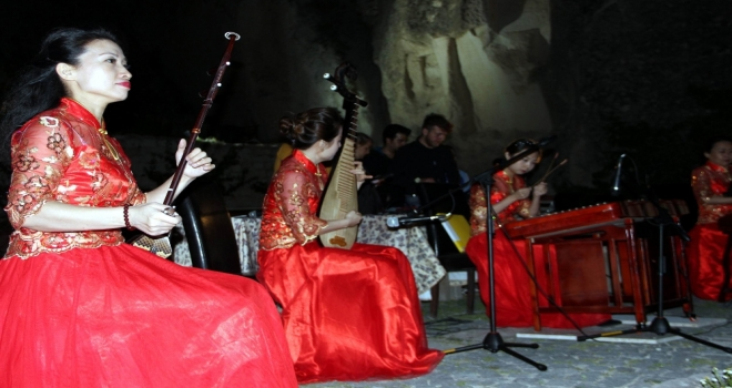 Kapadokyada Çin Müziği Rüzgarı