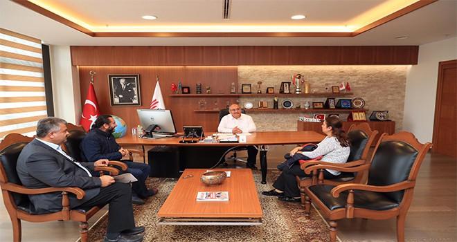 15 Temmuz Gazisi Alparslan Can'dan Başkan Hasan Can'a Ziyaret