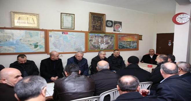 Başkan Hasan Can, Sabah Namazı Buluşmalarında Selman-ı Farisi Camii Cemaatiyle Bir Araya Geldi