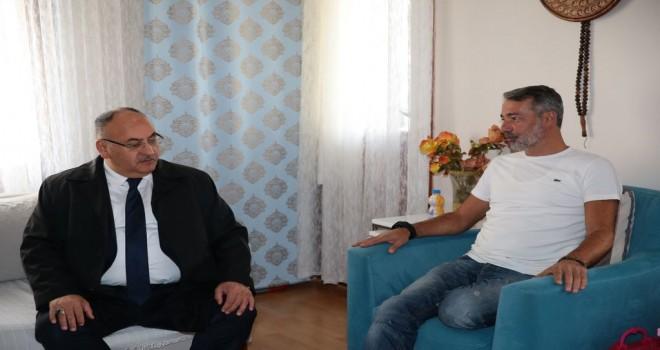 Başkan Hasan Can, 15 Temmuz Gazilerini Evlerinde Ziyaret Etti