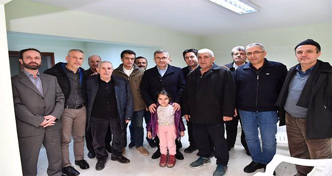 Başkan Türkmen Site Ziyaretleri Kapsamında Çengelköy Sitesini Ziyaret Etti