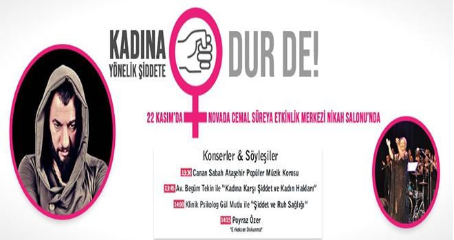 Kadına Yönelik Şiddet Ataşehir'de Konşulacak