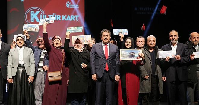 'Kültür Kart'lılar Ödüllerine Kavuştu