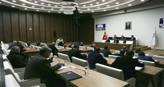 Belediye Meclisi Şubat Ayı Çalışmalarını Tamamladı