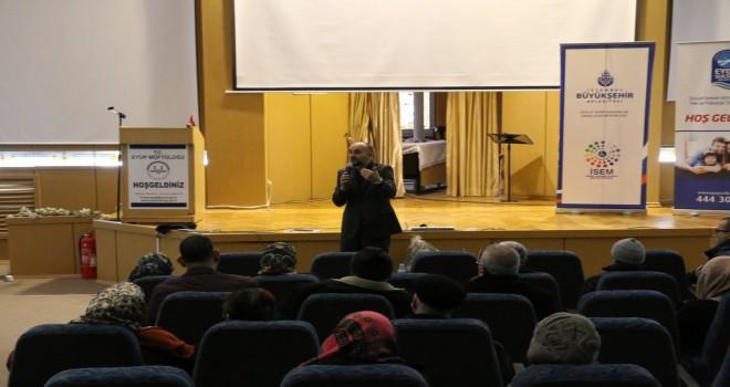Eyüpsultan Müftülüğünde engelliler semineri