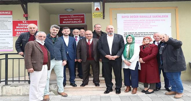 Başkan Hasan Can'ın, Mahalle Muhtarlarına Ziyaretleri Sona Erdi