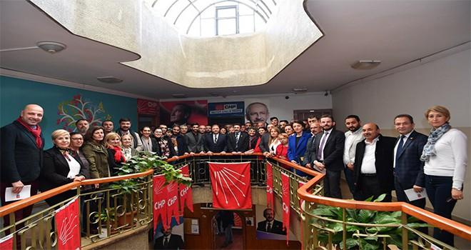 Başkan Ali Kılıç'tan CHP'ye teşekkür ziyareti