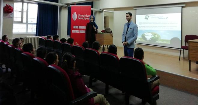 Okullar Açıldı Çevre ve Geri Dönüşüm Eğitimleri Başladı