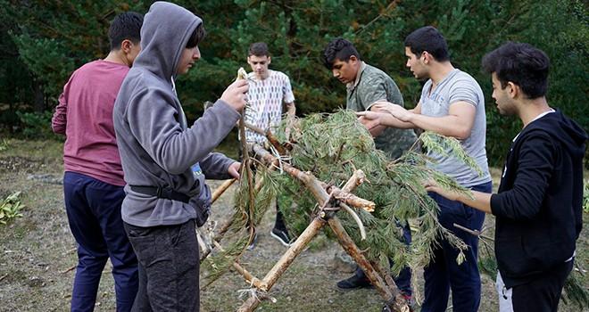 Eyüpsultanlı gençler, Bolu Aladağ'daki 2. Seviye Özel Eğitim Kampı'nda buluştu