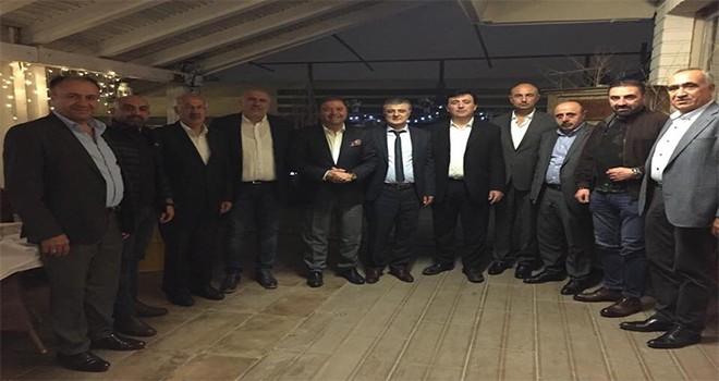 Başkan Ali Kılıç Sivaslı kanaat önderleriyle buluştu