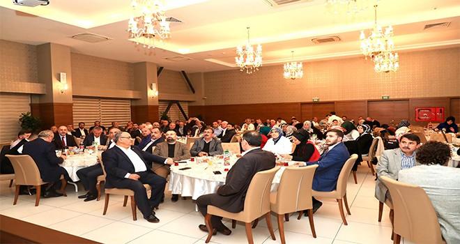 Başkan Hasan Can AK Parti Ümraniye İlçe Teşkilatının Genel İstişare Toplantısına Katıldı