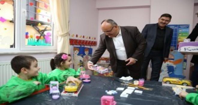 Başkan Hasan Can'dan Gündüz Bakım Evin'e Ziyaret