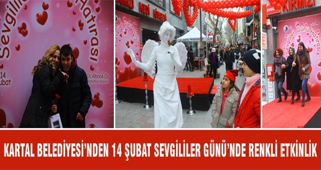 Kartal Belediyesi'nden 14 Şubat Sevgililer Günü'nde Renkli Etkinlik