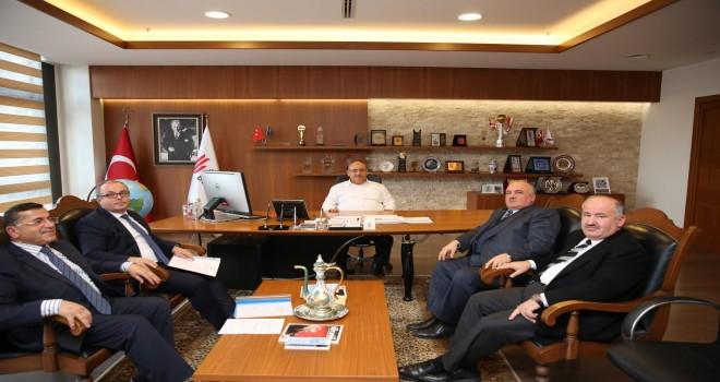 Dağlılar Vakfı'ndan Başkan Hasan Can'a Ziyaret