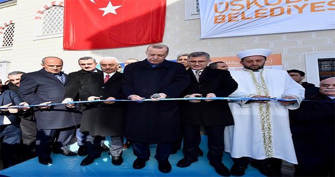 Hacı Harun Ekşi  Camii Cumhurbaşkanı Recep Tayyip Erdoğan'ın Katılımlarıyla İbadete Açıldı