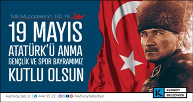 19 Mayıs Gençlik ve Spor Bayramı'nın Adresi Kadıköy Olacak