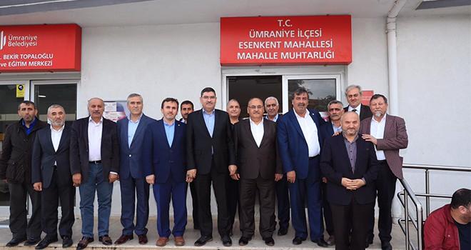 Başkan Hasan Can Esenkent Mahalle Muhtarlığını Ziyaret Etti