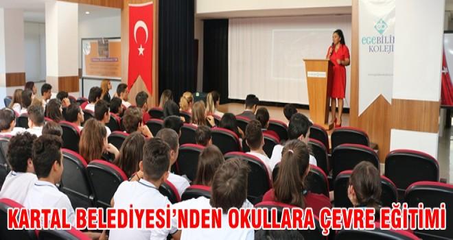 KARTAL BELEDİYESİ'NDEN OKULLARA ÇEVRE EĞİTİMİ