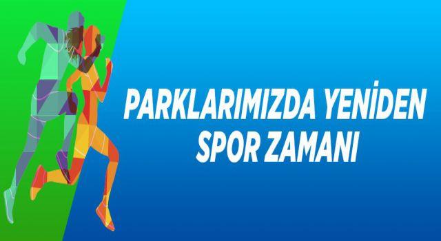 Ataşehir'in parklarında yeniden spor eğitimleri başlıyor