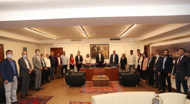 CHP Kartal İlçe Başkanlığı'ndan Başkan Gökhan Yüksel'e Ziyaret