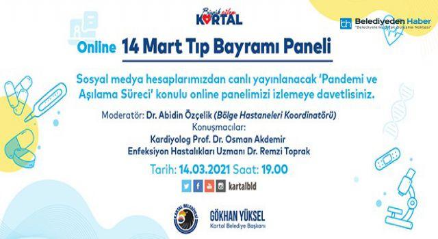 KARTAL BELEDİYESİ'NDE 14 MART TIP BAYRAMI PANELİ