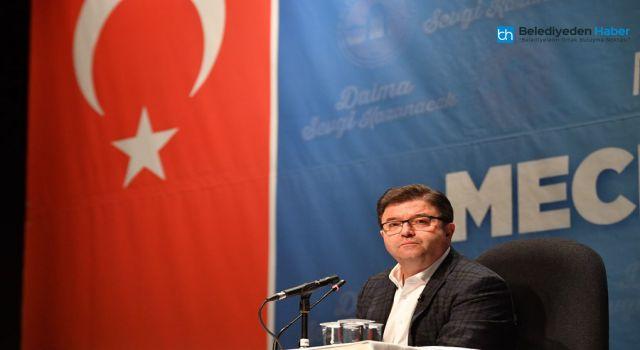 """BAŞKAN ALİ KILIÇ: """"BAŞIMIZ DİK, ALNIMIZ AÇIK"""""""