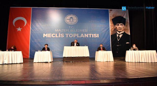 MALTEPE BELEDİYE MECLİSİ TOPLANDI