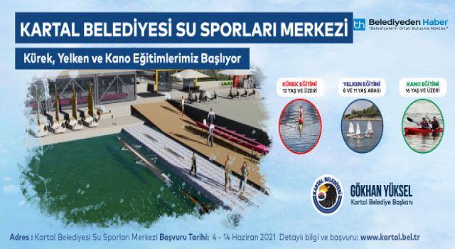 KARTAL BELEDİYESİ DRAGOS SU SPORLARI MERKEZİ AÇILIYOR