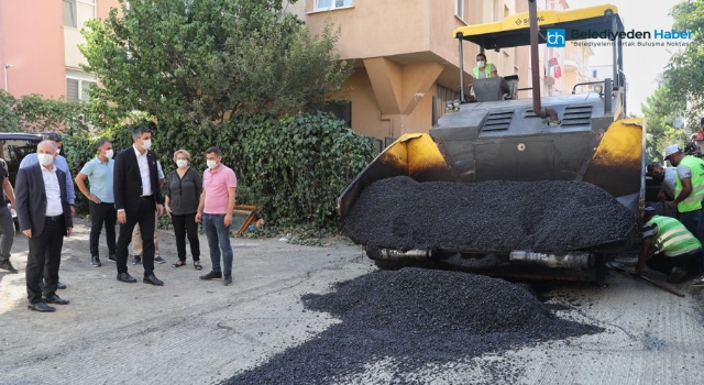 Kartal'da Asfaltlanmayan Mahalle Kalmayacak