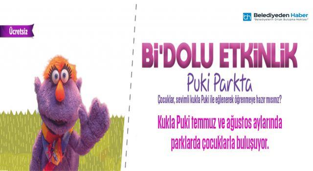 Puki Ataşehirli Çocuklarla Parkta Buluşuyor