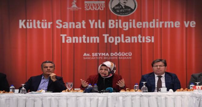 Sancaktepe Belediyesi 'Ömer Seyfettin Kültür Sanat Yılı Tanıtımını Yaptı