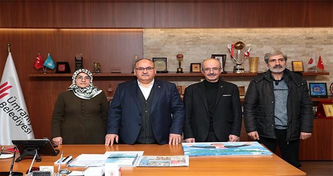 Büyük Birlik Partisi Ümraniye İlçe Başkanlığı'ndan Başkan Hasan Can'a Ziyaret