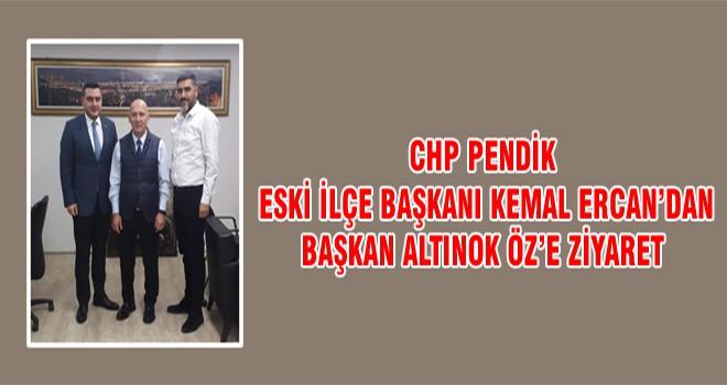 CHP Pendik Eski İlçe Başkanı Kemal Ercan'dan Başkan Altınok Öz'e Ziyaret